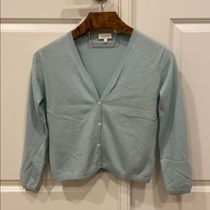 Tiffany blue cardigan in great condition size S